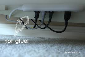 How To Cover Wires Remodelaholic 95 Ways To Hide Or Decorate Around The Tv