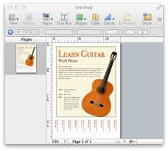 How To Do Flyers Make A Flyer In Pages On The Mac Mactips Top Tips And Tricks For