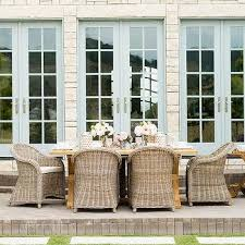 wicker patio dining furniture. Exellent Patio Best Home Ideas Appealing Outdoor Wicker Dining Chairs In Huntington All  Weather Side Chair Pottery Inside Patio Furniture U