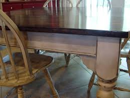 Kitchen Table Refinishing Remodelaholic Kitchen Table Refinished With Distressed Look