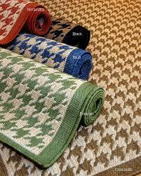 houndstooth rug