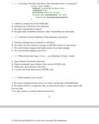 sql code below what informa chegg