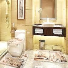 bathroom rugs set 3 piece ribbed 3 piece bathroom rug set bath rug contour rug lid