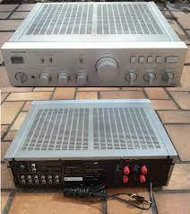 Onkyo A-8015 Silver Amplificateur Poweramp: Amazon.de: MP3 & Hifi