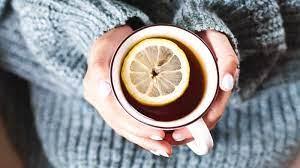 drinking red raspberry leaf tea