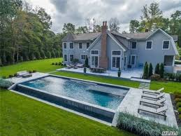 residential infinity pool. Modren Pool Wow House Modern Hampton Style Nissequogue Home With Infinity Pool   Smithtown NY Patch Inside Residential