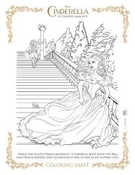 Small Picture Free Cinderella Printable Coloring pages