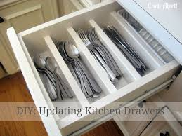Kitchen Drawer Organization Curb Alert Organizing Chaos Updating Kitchen Drawers