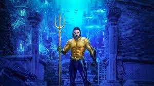 Wallpaper Of Aquaman Jason Momoa Poster Movie Background
