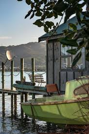 the onepoto road sheds are one of two boat shed communities at titahi bay
