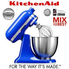 kitchenaid mixer blue. kitchenaid - mini stand mixer 3,3 l twilight blue kitchenaid