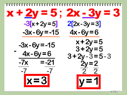 solve the system of equations algebraically jennarocca