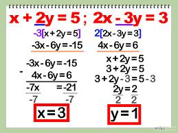 solve system of equations algebraically tessshlo