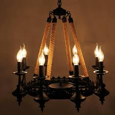 captivating wicker chandelier wood chandelier black wood and rope chandelier with 8 light