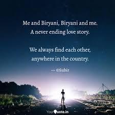Best Biryani Quotes Status Shayari Poetry Thoughts Yourquote