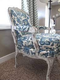 predominantly taupe living room view in gallery upholstered chair 2