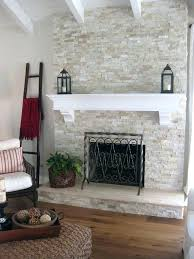 stacked stone electric fireplace infrared quartz