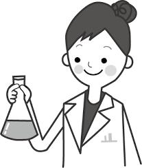 医療白衣の女性イラスト無料イラストフリー素材