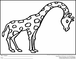 Small Picture Coloring Pages Animals Zoo Scene Coloring Page Zoo Animal