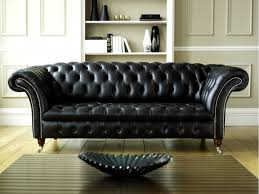 Furniture Awesome Black Leather Chesterfield Sofa Design Ideas With Antique  Antique Leather86