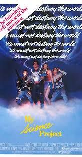 My Movie My Science Project 1985 Imdb