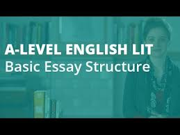how to write an a essay basic structure a level english  how to write an a essay basic structure a level english literature aqa ocr edexcel
