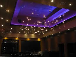 this italian restaurant used rgb led strips to light up the crown led light design ideas
