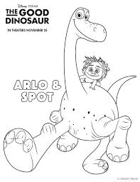 Small Picture The Good Dinosaur Free Printable Coloring Sheets Activities