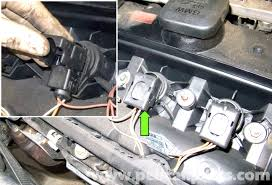 bmw e60 5 series spark plug and ignition coil replacement (2003  at 2003 Bmw 530i Ignition Coil Wire Harness