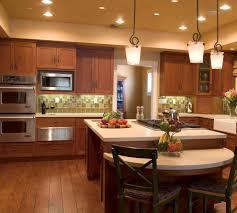 Kitchen Soffit Lighting Cabinet Soffit Kitchen Transitional With Tile Backsplash Bar