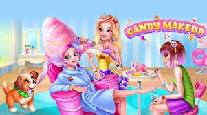 open candy makeup sweet salon in bluestacks