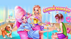 open candy makeup sweet salon in bluestacks