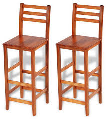 rustic wood bar stools. Rustic Wooden Barstools Pair Kitchen Breakfast Tall Chair Wood Bar Stool Set 2pc Stools A