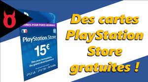 Store - Avoir Carte Gratuit Comment Une Youtube Playstation