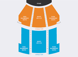 Artpark Amphitheater Seating Chart Seating Chart Tickets Performing Arts Center Buffalo State
