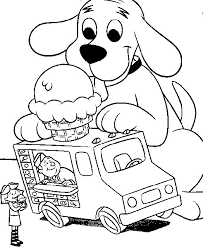ice cream truck coloring pages. Modren Pages Throughout Ice Cream Truck Coloring Pages K