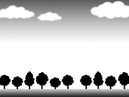 樹木フレーム壁紙シンプル背景イラスト風景 無料イラスト素材素材ラボ