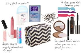college going s makeup bag essentials by nawsfashion on polyvore makeup bag essentials screen shot 2016