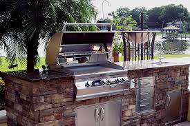 Outdoor Barbecue Kitchen Designs Backyard Kitchen Construction And Outdoor Grill Store Just
