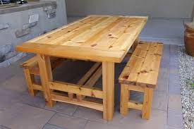 wood plans patio furniture woodworking picnic with regard to wooden outdoor table designs plan 1