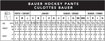 Bauer Glove Size Chart Www Totalhockey Com Ui Sizing Bauer Protective