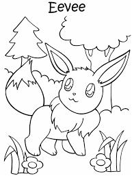 Kleurennu Pokemon Eevee Kleurplaten