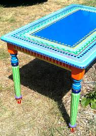 painted furniture ideas tables. kitchen table custom hand painted furniture made to by lisafrick 35000 ideas tables
