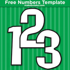 Free Printable Square Inner Number Templates Make Breaks