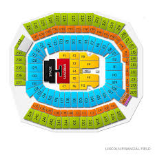 Lincoln Financial Field Seating Chart Kenny Chesney Kenny Chesney Philadelphia Tickets June 6