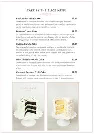 Its June 1st And Our New Summer Menu Is The Cake Bake Shop By