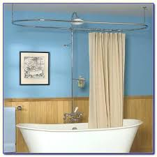 dazzling rod curtain dazzling oval shower round rod oval shower curtain rods