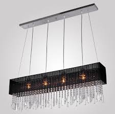 rectangular black chandelier rectaacutengulo arantildea compra lotes baratos de