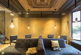 sustainable restaurant furniture. New Restaurant Hattusa Features Clayworks Clay Plaster For Innovative Interior Designer Wall Finishes Sustainable Furniture