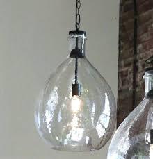 oversized glass pendant light antique farmhouse glass jug pendant light recycled glass bottle pendant lights